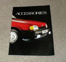 FORD Accessories BROCHURE circa 1985 Inc RS Accessori