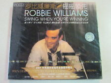 ROBBIE WILLIAMS SWING WHEN YOU'RE WINNING 14 TRK EASTERN IMPORT HDCD 2001 CD NEW