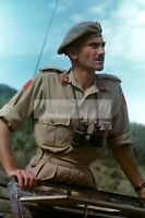 WWII photo Canadian Major General Guy Symonds during battles in Italy 1283