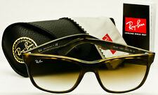 RAY-BAN RB4181 710/51 HIGHSTREET WAYFARER Light Havana-Brown Gradient AUTHENTIC