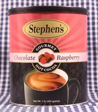 1 Stephens CHOCOLATE RASPBERRY Gourmet Hot Coco Hot Chocolate 1 Lb