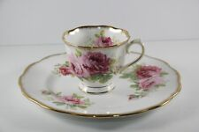 """New listing Vintage American Beauty Prince Albert Teacup & 8"""" Luncheon Plate England"""