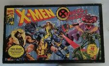 X-MEN Under Siege Board Game 100% COMPLETE with survival guide Marvel Pressman