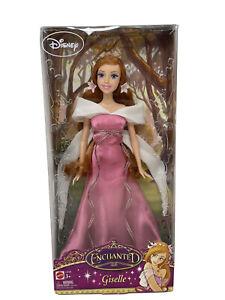 New~ Enchanted Giselle Doll Amy Adams Movie Princess Disney Barbie