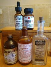 Old Medicine Bottle Hand Crafted,Quaalude,Cannabis,Cocaine,Heroin,Bena(SAVE$20)