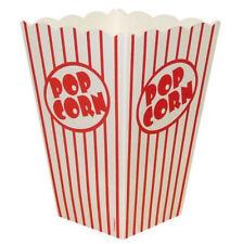 10 Large Popcorn Boxes - Gift Party/Loot/Wedding Cinema Empty Pop Corn