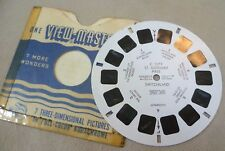 Vintage Viewmaster - Sawyer's Single Reel C 1273 St Gothard Pass Switzerland