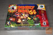 Donkey Kong 64 (Nintendo 64 N64 1999) FACTORY SEALED! - RARE! - EX!