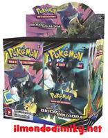 Pokemon Sole e Luna GIOCO DI SQUADRA box da 36 buste ITALIANO SIGILLATO+OMAGGIO