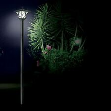Solar Powered Lamp Post Light Outdoor Garden 1.5M Path Way Landscape Fence Lamp
