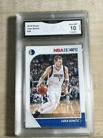 LUKA DONCIC 2019 NBA HOOPS #39 GMA 10 Gem Mint (L9)