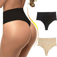 Woman Slim Body High Waist Thong Thigh Slimming Shorts Body Shaper Tummy Control