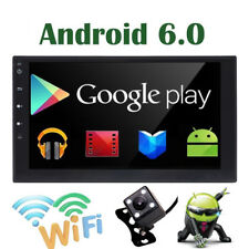 """2 Din 7"""" Android Car Stereo Radio no-DVD Player MP3 GPS WiFi 3G Bluetooth US"""