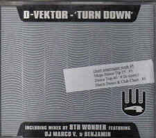 D VEktor-Turn Down cd maxi single Italo Eurodance