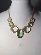 Stylish chunky Statement Necklace-huge Stones - Ann Taylor $44.99 #139