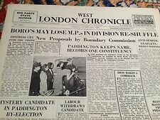 west london chronicle june 13th 1947 - arnhem commanders praise for boys brigade