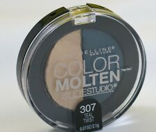 New Maybelline Color Molten Eye Studio Duo Eye Shadow-307 Teal Twist