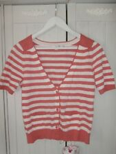 LOVELY & COMFY BODEN TOP/CARDI, SIZE 14, 55% LINEN/45% COTTON