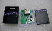 5V 1A USB Charger Regulator Lithium Battery Boost 3V-5V IN Solar Fold bag/ Cell