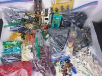 Lego Approx 10-11 Lbs. Starwars Mini Figures/ Mix Mini Figures, Spaceship, Cars,