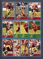 2003 Topps San Francisco 49ers TEAM SET - MINT