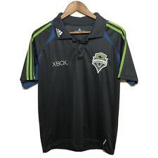 Seattle Sounders FC Adidas MLS Climacool On Field Polo Shirt Mens Medium