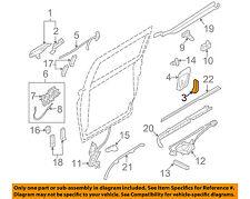 KIA OEM 06-12 Sedona Side Sliding Door-Handle, Inside 836104D000DP