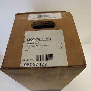 Grundfos 576TCK50 50ft. Tefzel 12/2 Motor Lead W/ Ground NOS In Box