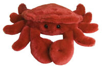 "8"" Mini Flopsie Crab Crab Soft Stuffed Animal Plush"