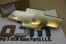 Chevrolet Silverado Tahoe Suburban Gold Bow Tie Front Grille Emblem new OEM
