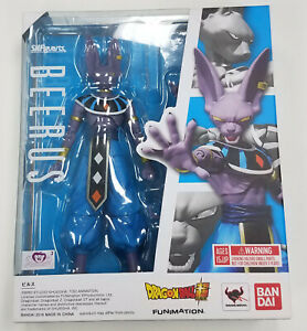 Bandai Tamashii SH Figuarts Dragon Ball Super BEERUS Action Figure MISB 2016