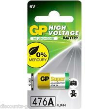 GP 476A Battery - Alkaline 6V 4LR44 A 544 - Pack of 1