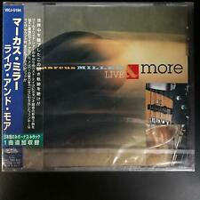 Marcus Miller ‎– Live & More (New/Sealed] With OBI strip [Japan, 1997] MINT!