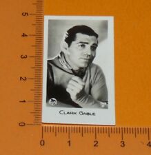 BRIDGEWATER CARD 1933 FILM STARS MOVIE HOLLYWOOD CLARK GABLE USA