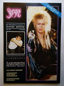 David Bowie Starzone 16 Vintage Original Magazine 1986 Labyrinth Movie Exclusive
