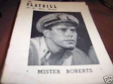 Mister Roberts  Playbill with John Forsythe 1950