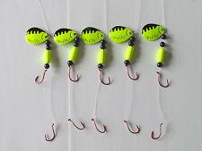 5 Spinner Floater Rigs Leech Minnow Crawler Harness Walleye, Bass, Pike
