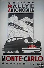 Robert Falcucci aff Monte Carlo rallye course automobile ancienne collection