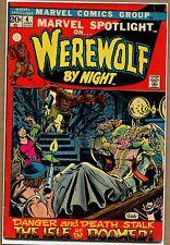 Marvel Spotlight #4 - Island of the Damned! - 1972 (Grade 4.0) WH