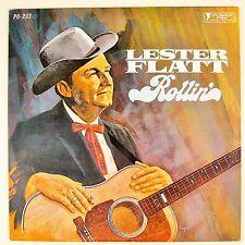"LESTER FLATT Rollin""  LP NM- NM-"