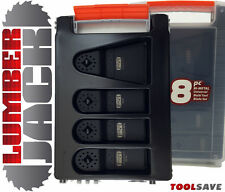 8pc TRADE Blades Case Set Fein Multimaster Bosch Makita Oscillating Multitool
