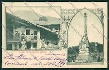 Biella Sagliano Micca cartolina QQ6493