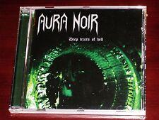 Aura Noir: Deep Tracts Of Hell CD 2012 Remaster Bonus Tracks Peaceville EU NEW