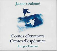 LIVRE AUDIO / JACQUES SALOME : CONTES D'ERRANCES CONTES D'ESPERANCES - 1 CD MP3