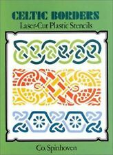 Celtic Borders:  Laser-Cut Plastic Stencils by Co.Spinhoven 171101
