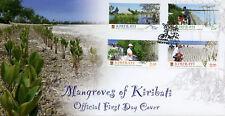 Kiribati 2014 FDC Mangroves 4v Set Cover Trees Plants Nature Stamps