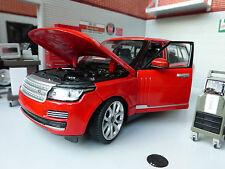 Range Rover blanco 1 24 Rastar