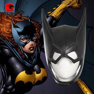 DFYM Batman Cosplay Arkham Knight Batgirl Cosplay Helmet Leather Mask Halloween