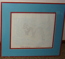 Winnie The Pooh's Friends - Kanga's Roo Animation Art - Framed!