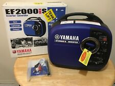 New, Open Box: Yamaha EF2000iS 2000 Watt Inverter Generator ~Nice!